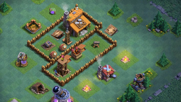 Modojo | Clash of Clans - Builder Hall 3 Base Building Tips And Best Layouts