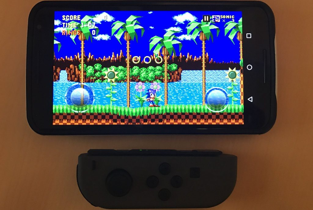 Modojo | How To Play Sega Forever Games With Switch Joy-Con Controllers