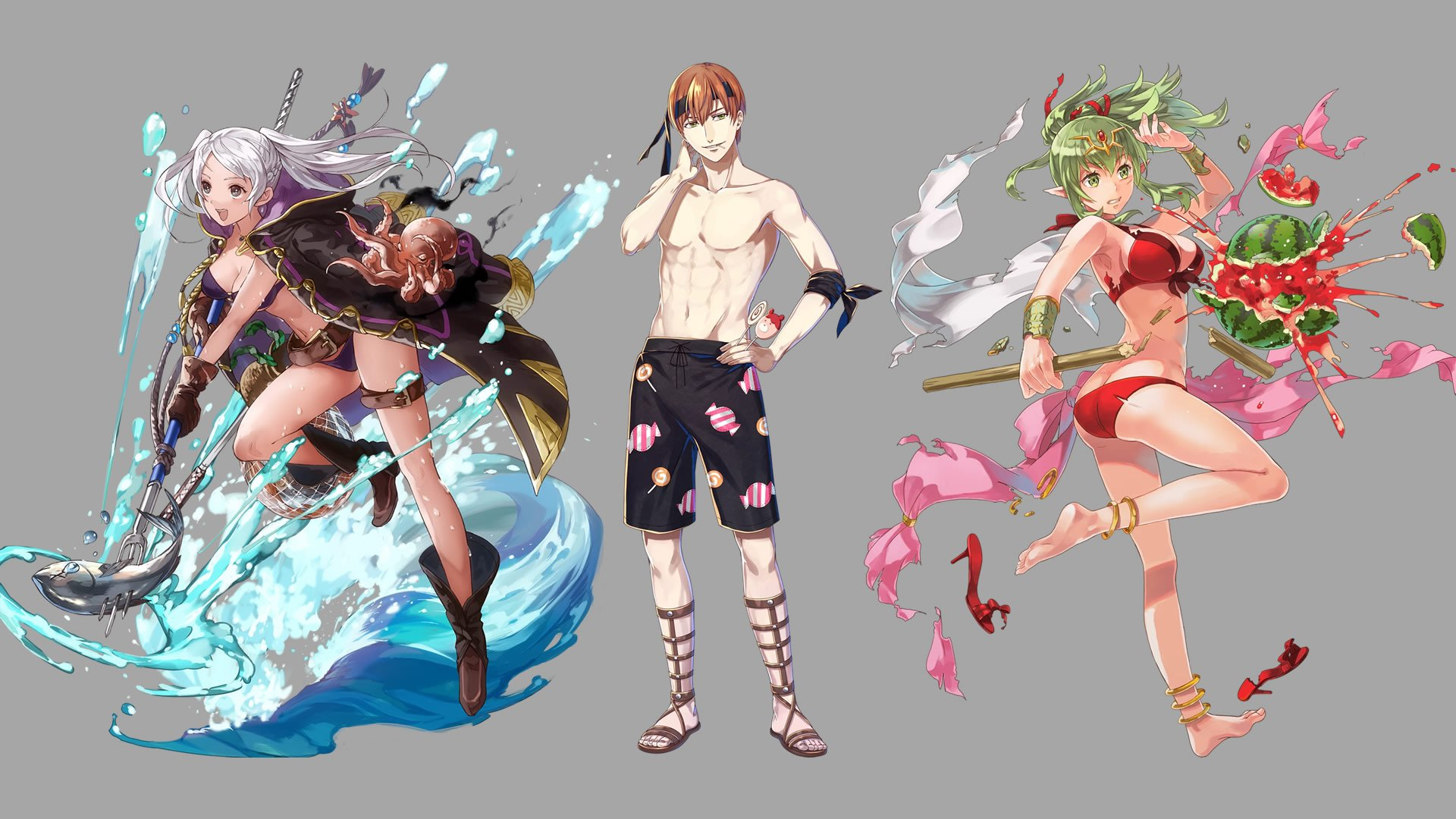 data mine reveals key art for fire emblem heroes ylissean summer