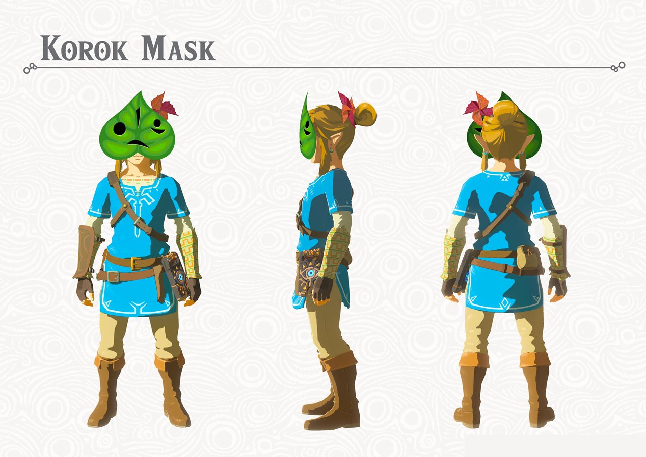 Modojo | Legend of Zelda: Breath of the Wild - How To Get The Korok Mask