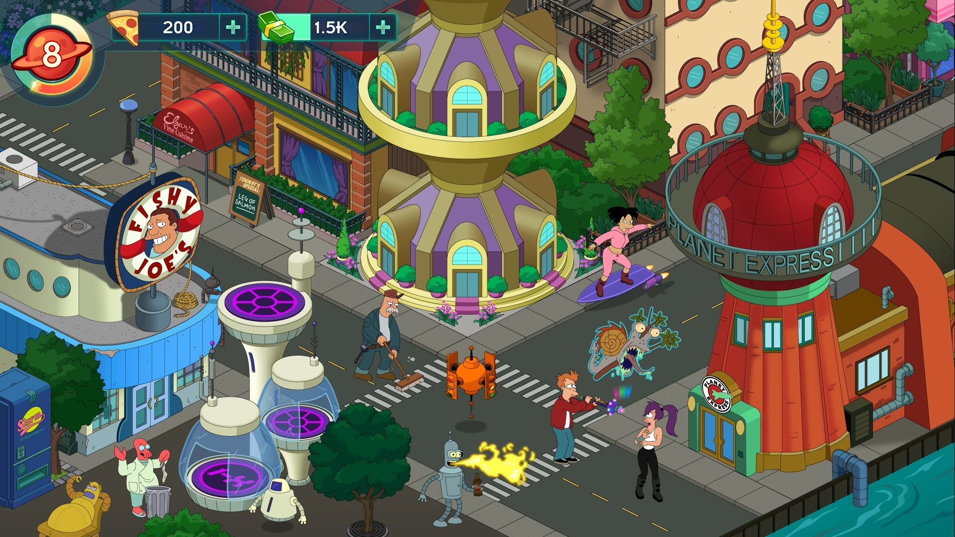 Modojo | Futurama: Worlds of Tomorrow - Tips, Cheats, Getting Started