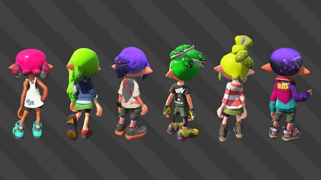 Splatoon 2 How To Choose Different Hairstyles Modojo