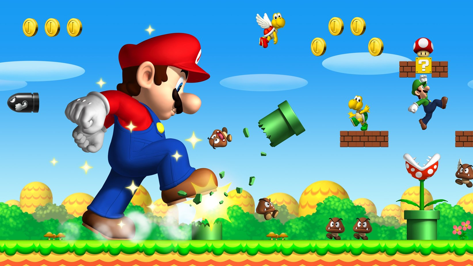 Modojo | Mario Is Apparently No Longer A Plumber