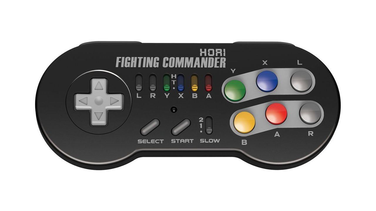 Modojo | Hori Is Making A Fighting Commander Controller For The SNES Classic Edition