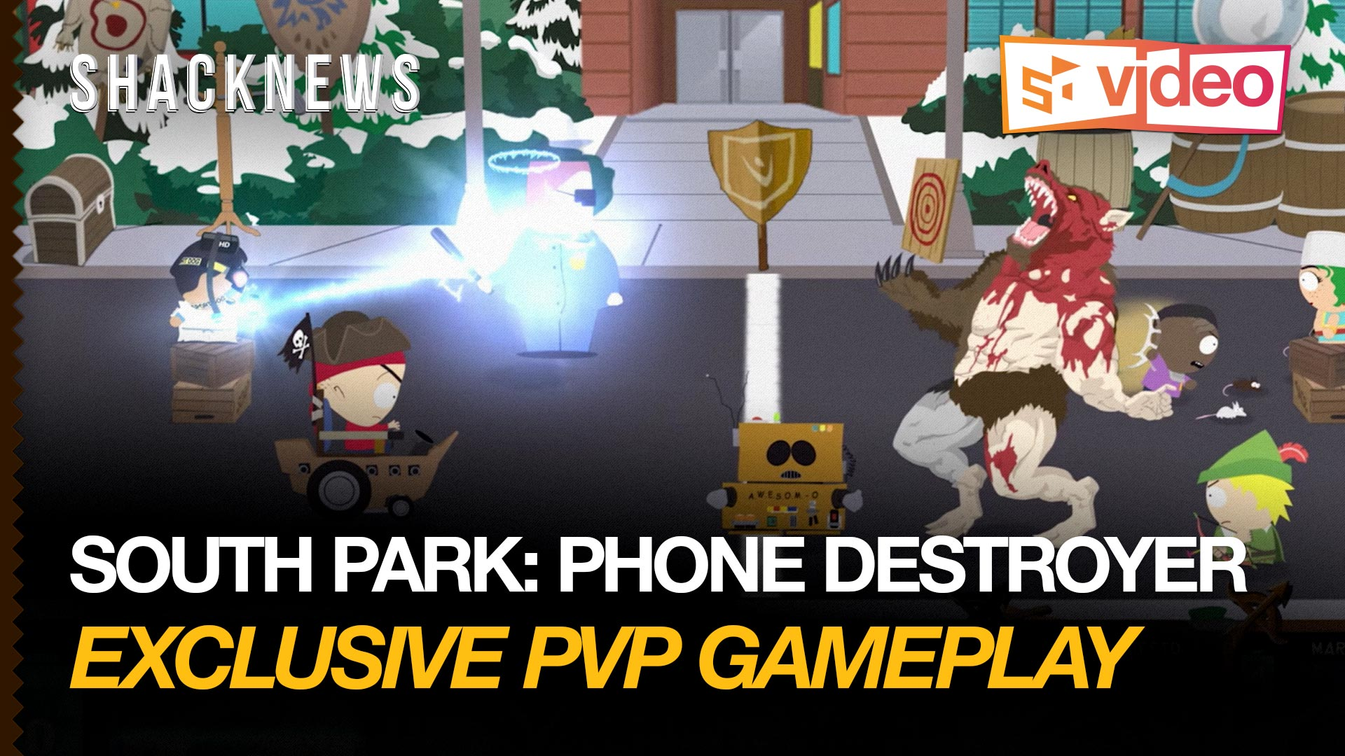 Modojo | South Park: Phone Destroyer Gameplay: Additional Missions and PvP