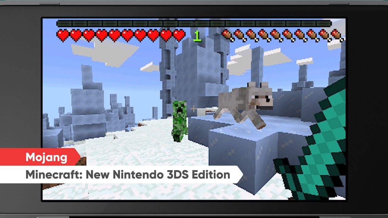 Modojo | Minecraft: New Nintendo 3DS Edition Is Landing On The 3DS eShop Today