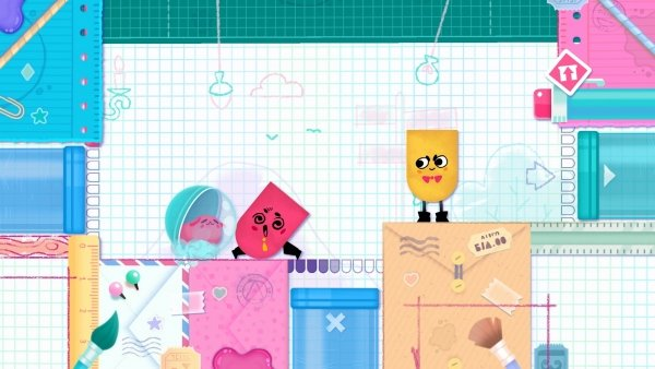 Modojo | Snipperclips Plus: Cut It Out, Together Is Coming to Nintendo Switch