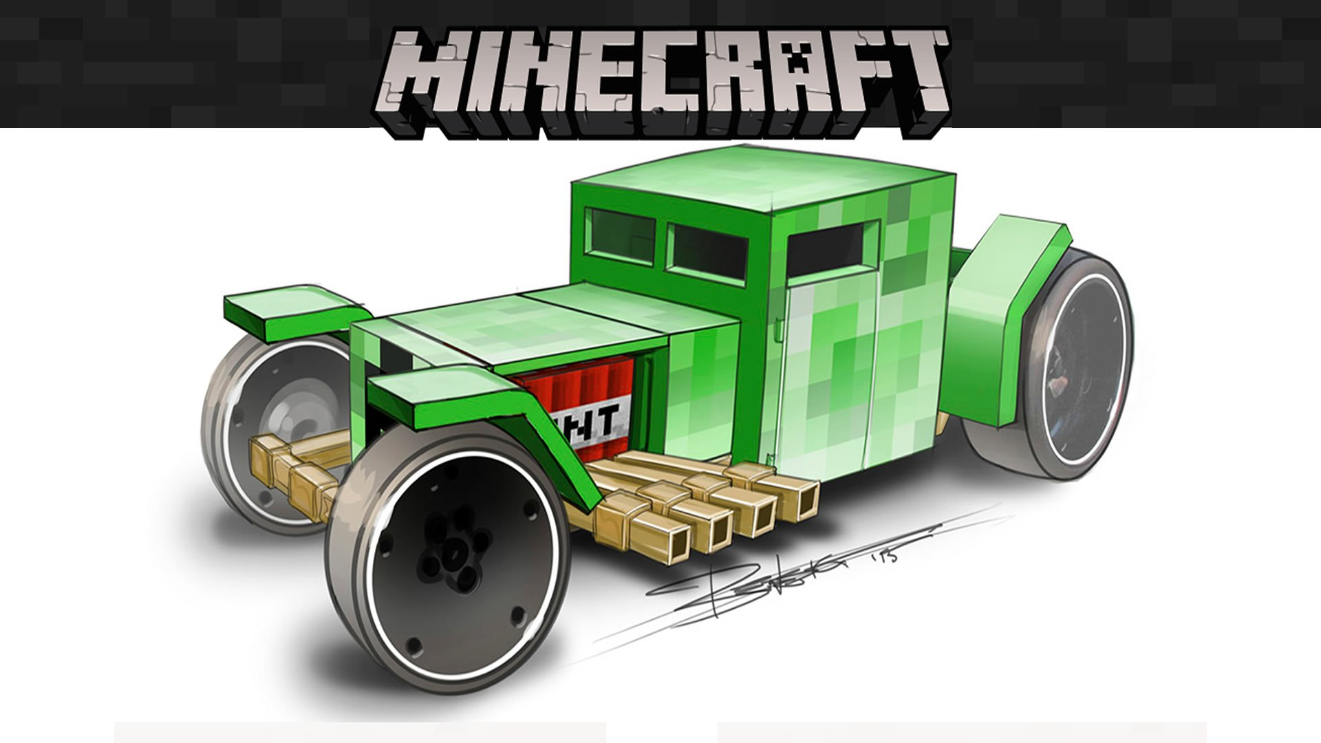 Modojo | Mattel Is Launching Special Minecraft Hot Wheels Next Month