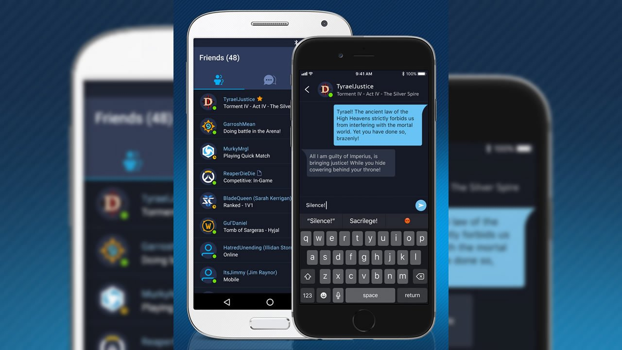Blizzard's New Battle net Social App Available Now For iOS And