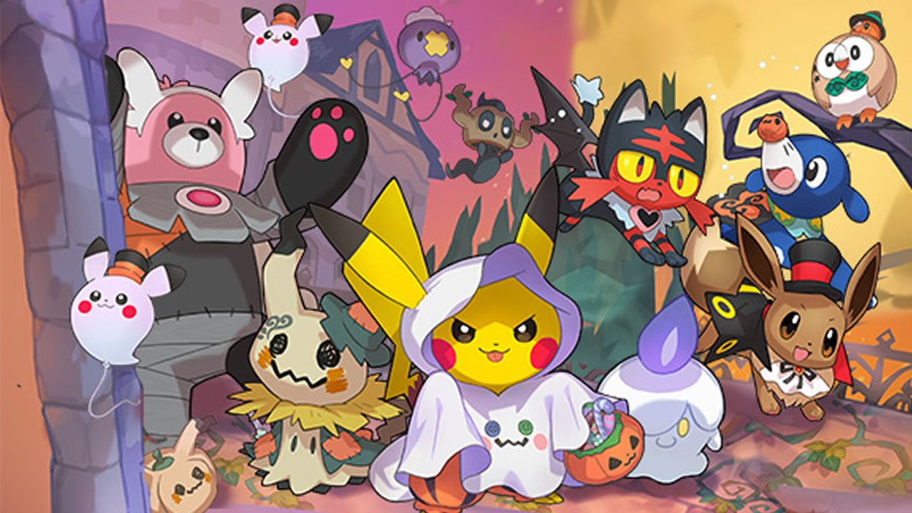 Modojo | The Pokemon Company Celebrates This Halloween With New Events And New Content