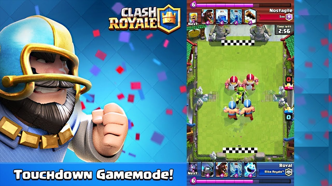 Modojo | Latest Clash Royale Update Adds New Events And New Touchdown Mode