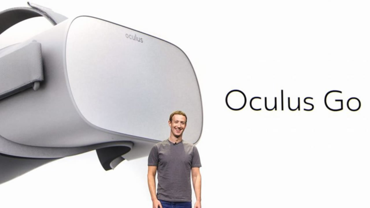Modojo | Mark Zuckerberg Reveals New Standalone VR Headset Oculus Go
